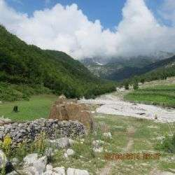 צפון אלבניה - עמק ולבונה