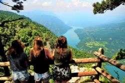 מערב סרביה: נהר דרינה