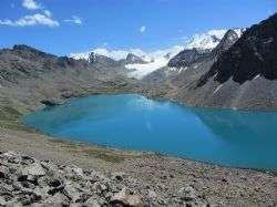 טרקים בהרי השמיים בקירגיזסטן