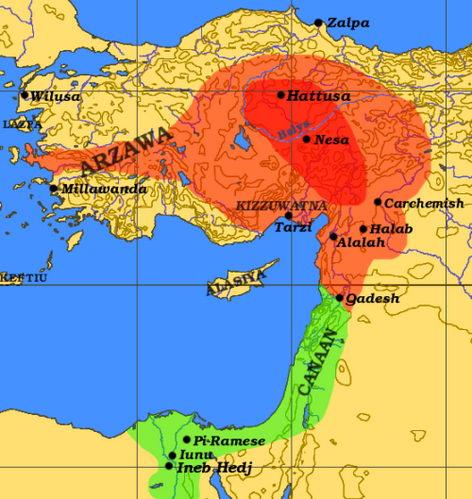 היסטוריה טורקית א' - חיתים