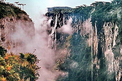 ארץ הקניונים בדרום ברזיל