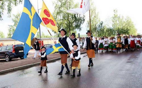 חגיגות היום הארוך בשבדיה