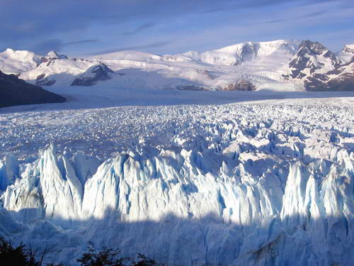 טיול לפטגוניה - שמורת הקרחונים