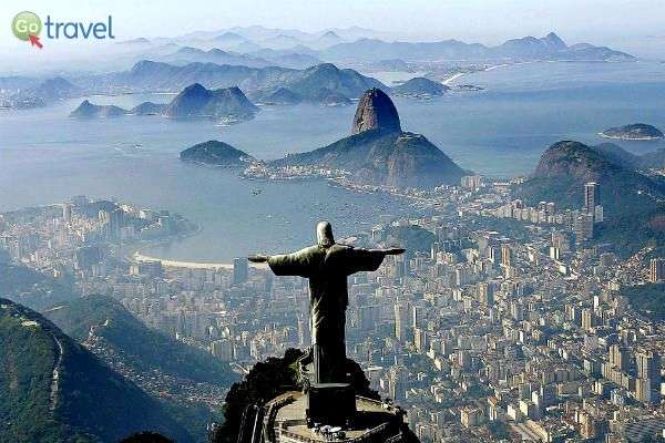מלמעלה רואים כמה מיקומו מרכזי וחשוב (צילום: Ricardo Stucket / Fotos Públicas)