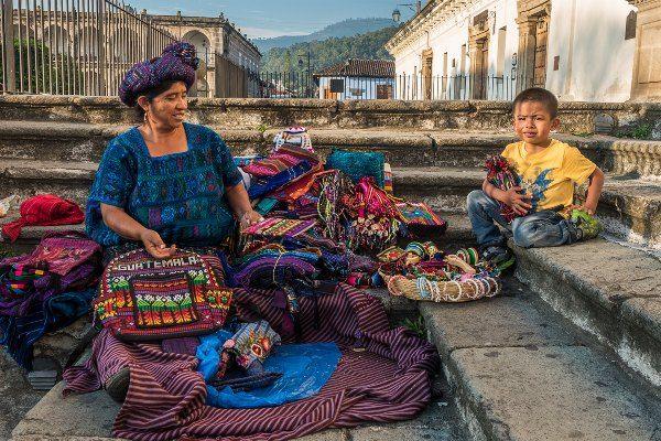 אנטיגואה גואטמלה הצבעונית (צילום: Dan Perez)