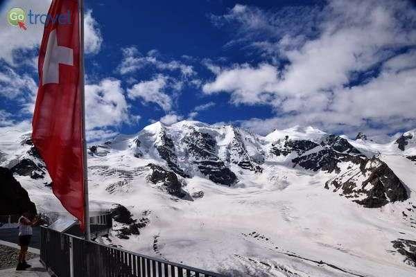 עוד מבט על הקרחון בדיאבולצה  (צילום: כרמית וייס)