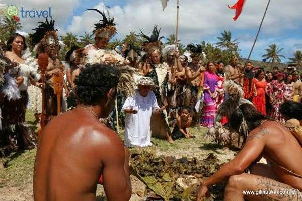 טקסים עתיקי יומין מזמינים את המבקרים להצטרף (צילום: גילי חסקין)