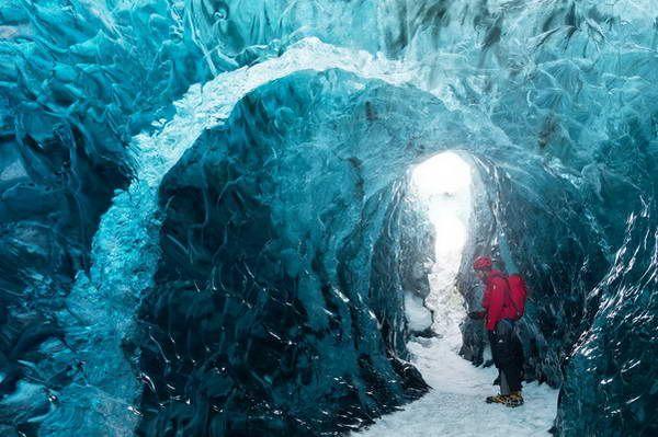 במרומי קרחון ואטנאיוקול  (צילום: Peter Gege)