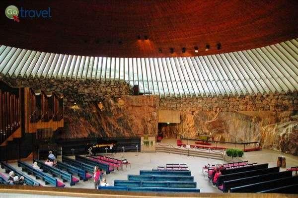 כנסיית הסלע בהלסינקי  (צילום: רמי דברת)