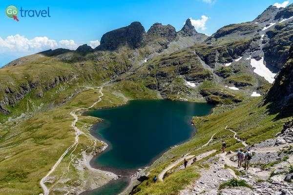 ועוד אגם על רכס פיצול  (צילום: dconvertini)