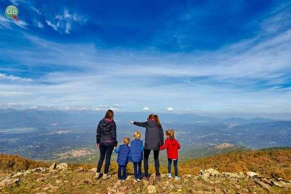 מהגבעות של חבל לה מנצ'ה ניתן לצפות על המרחבים (צילום: Turismo Castilla-La Mancha)