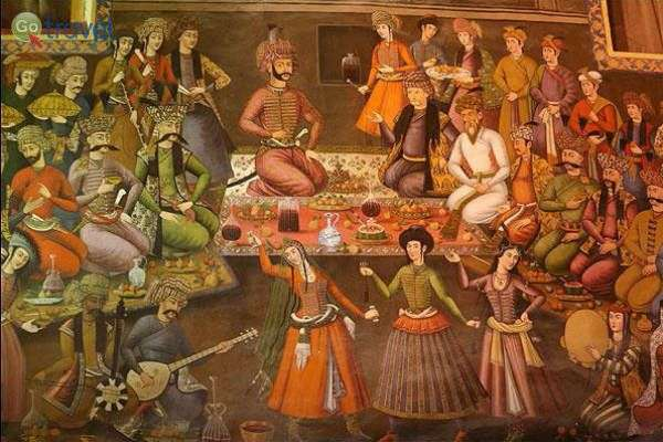 ההיסטוריה של היין מתועדת בכתבים ובציורים (צילום באדיבות: שירה לבל)