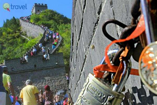 החומה הסינית - בין האתרים הפופולריים ביותר (צילום: יובל נעמן)