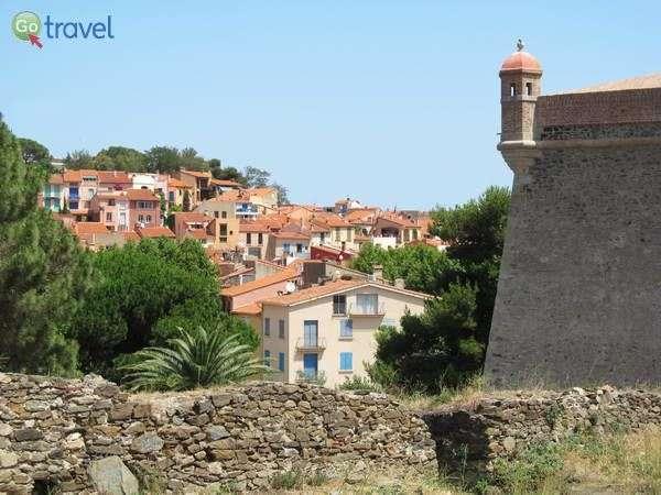 העיירה הציורית קוליור בדרום צרפת  (צילום: שלמה צדקיהו)
