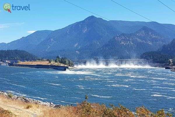 סכר על נהר קולומביה    (צילום: נטע קלימי עילם)
