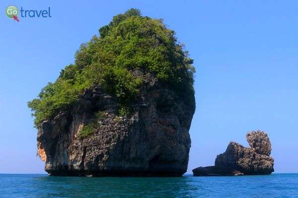 נוף אופייני סביב האי קו פיפי (צילום: נורית פרח)