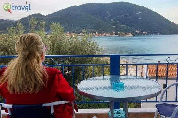תצפית מהמלון על המפרץ של ואסיליקי  (צילום: כרמית וייס)