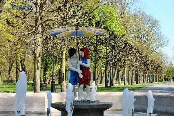 פארק של צ'חוצ'ינק עם בוא הסתיו  (צילום: Visit Ciechocinek)
