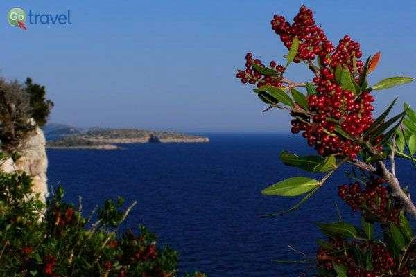נופים מן המצוק של האי דוגי אוטוק (צילום: אמיר גור)