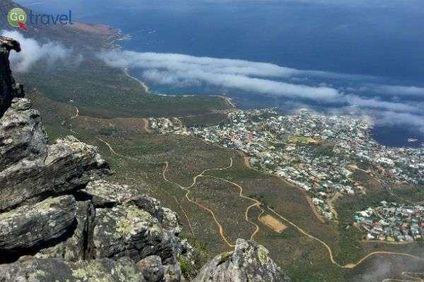 הנוף ממרומי ההר (צילום: רונית הרשקוביץ)