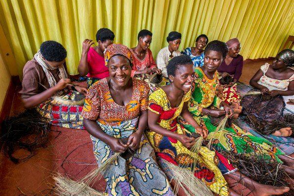 קואופרטיב נשים בקיגאלי הבירה (צילום: King County, WA)