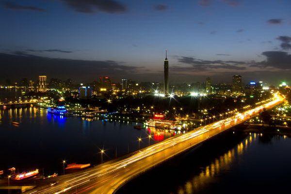 נהר הנילוס חוצה את קהיר  (צילום: crosby_cj)