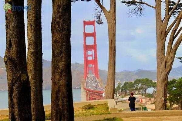 מבט נוסף על גשר הזהב  (צילום: daveynin)
