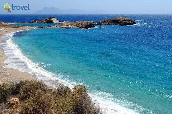 חופים בתוליים וים טורקיז בכפר לפקוס (צילום: אמיר גור)
