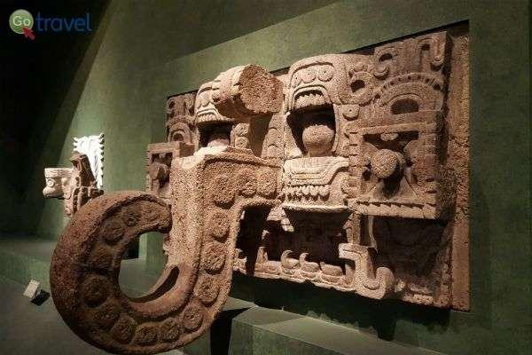 במוזיאון האנתרופולוגיה של מקסיקו  (צילום: Blok 70)