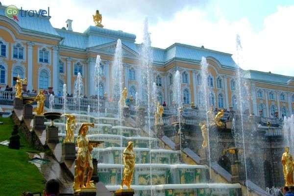 ארמון פטרהוף, סנט פטרסבורג  (צילום: רמי דברת)