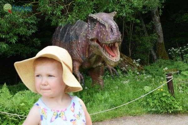 זהירות דינוזאורים...!   (צילום: כרמית וייס)