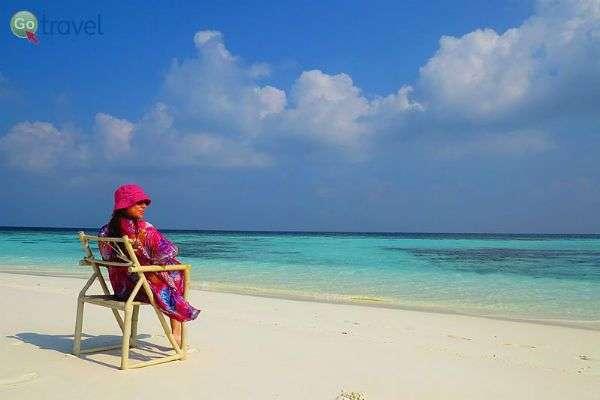 האיים המלדיביים מספקים שפע של חופים מהחלומות, בהם ניתן לעצור ולהתרגע (צילום: אמיר גור)
