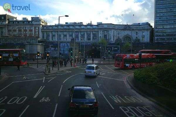תנועה בלתי פוסקת בעיר לונדון (צילום: ירדן גור)