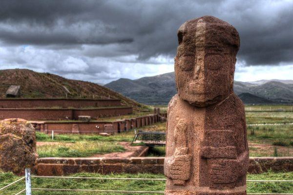 טיוואנאקו, האתר הארכיאולוגי החשוב של התרבות האינדיאנית העתיקה (צילום: Thomas BONNIN)