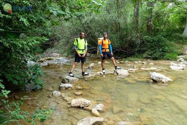 מסלולי הליכה יבשים ורטובים לאורך הנהר (צילום: ירדן גור)