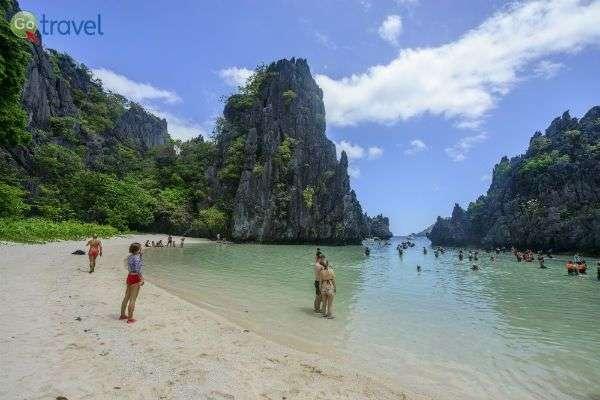 חופי הים הבתוליים שבאי פאלוואן (צילום: איציק יוגב)