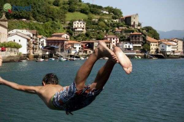 3...2...1... למים!    (צילום: Bilbao tourismo)