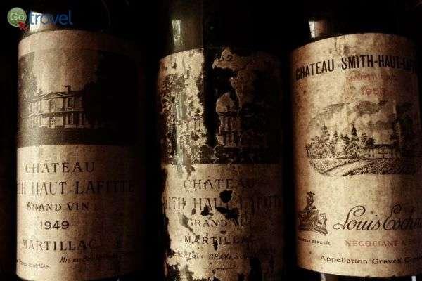היין משתבח עם השנים, התווית - פחות... (צילום: איש הענבים)