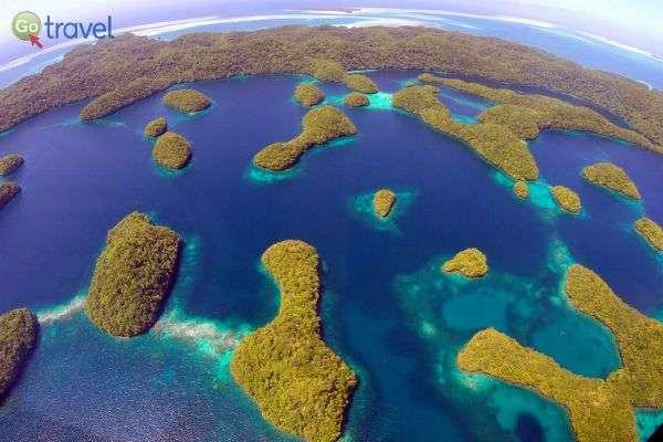 איי פלאו זרועים בלב האוקיינוס  (צילום: אמיר גור)