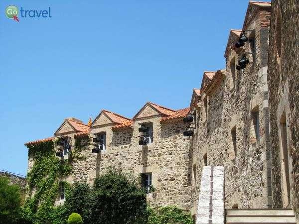 הארמון-מבצר של קוליור  (צילום: שלמה צדקיהו)