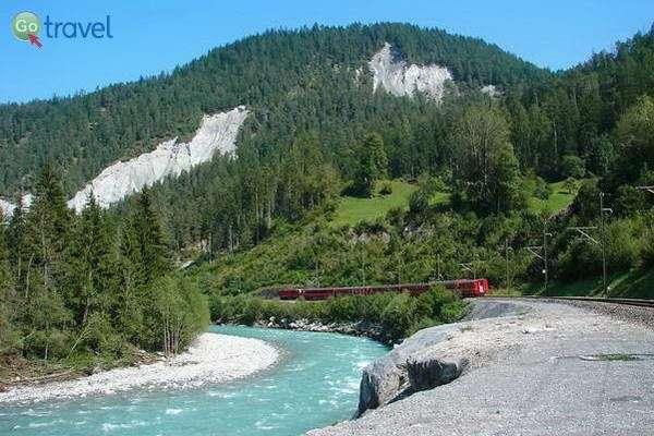 הגרנד קניון של שוויץ  (צילום: Kurt Zwahle)