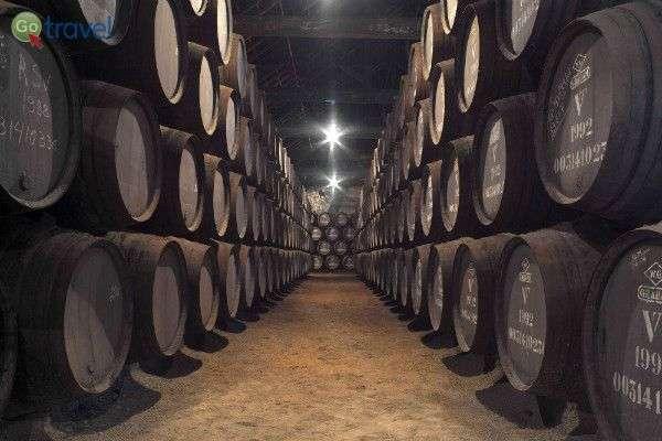 יינות הפורט של גרהאם משנים נבחרות נחים במרתף (צילום: באדיבות Graham's)