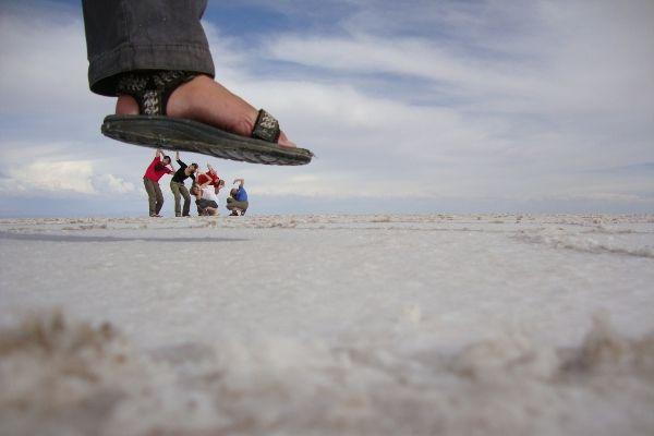 תעתועים במדבר המלח (צילום: Liam King)