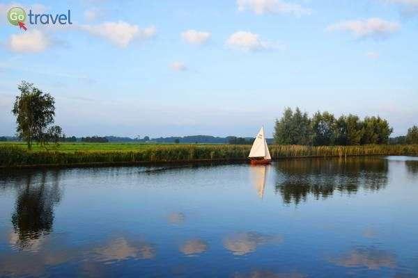 ספינת מפרש באגם לואוזדרכט  (צילום: כרמית וייס)