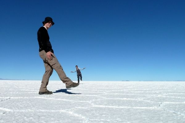 תעתועים במדבר המלח (צילום: Christian Keller)