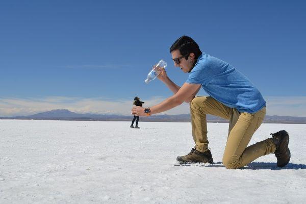 תעתועים במדבר המלח (צילום: Gabriel Rojas)