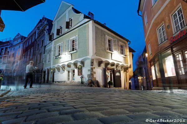 רחובות מרוצפי אבן  (צילום: BeckerG)