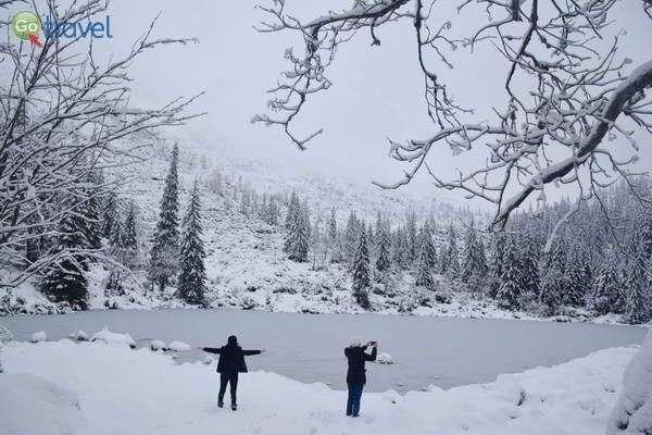 אגם בהרי רוהצ'ה  (צילם: כרמית וייס)
