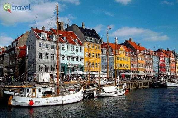 קופנהגן בירת דנמרק (צילום: John Anes)