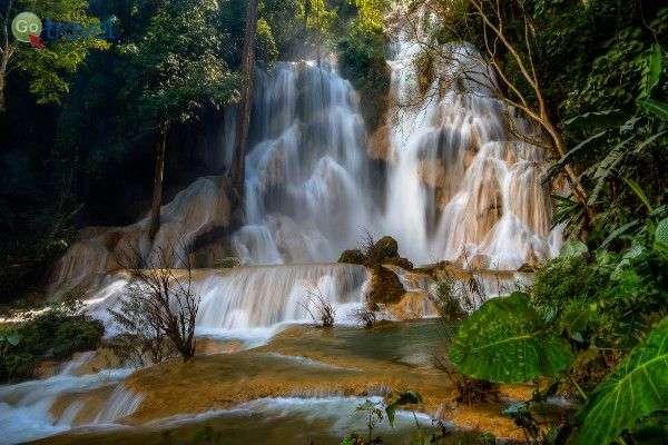 מפלי גן עדן של קואנג סי (צילום: WIL)